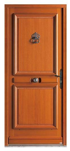 """Porte d'entrée en bois """"Avoriaz"""""""