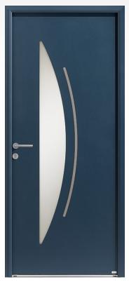"""Porte d'entrée aluminium """"Cotim Zilten"""""""