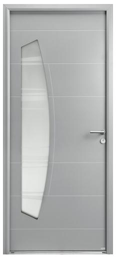 """Porte d'entrée aluminium """"Belm"""""""