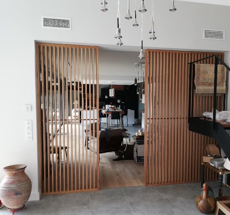 claustra interieur bois
