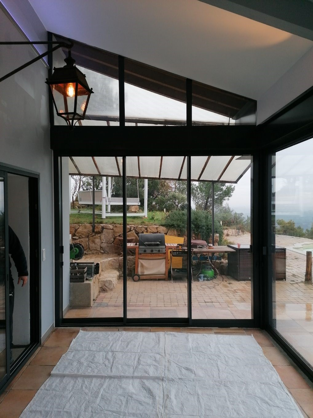 veranda aluminium